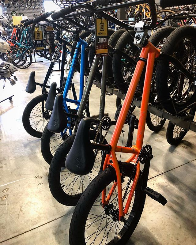 Bmx bikes from @kinkbmx are back in stock for the beginning of the holiday season.